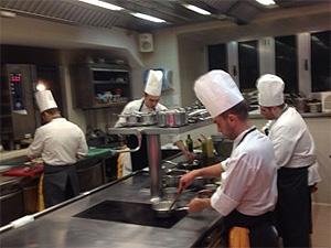 Il Buco Restaurant Kitchen