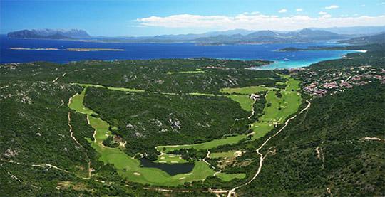Pevero golf club Porto Cervo Sardinia