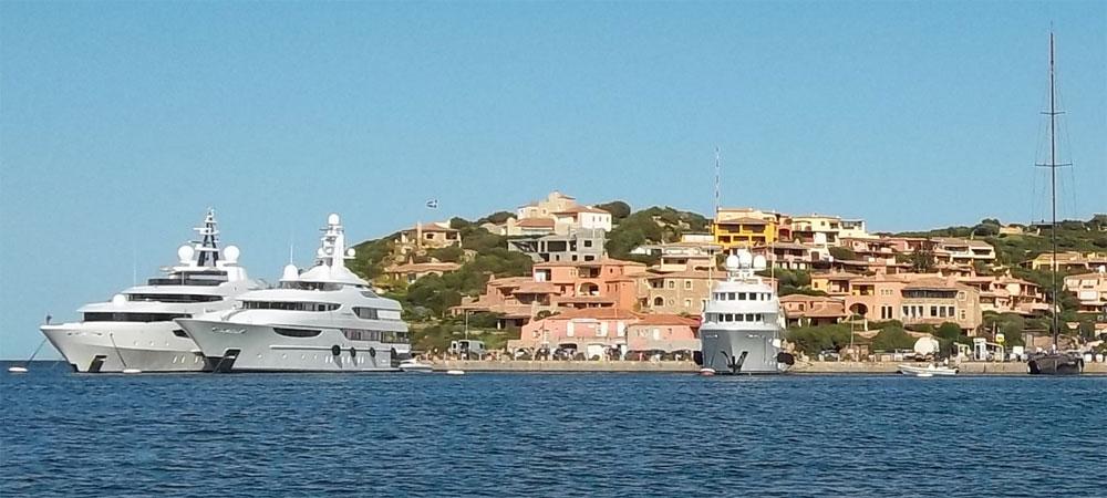 Porto Cervo yachts